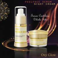 Oxyglow peelface + night cream