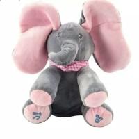 boneka gajah Peek A Boo
