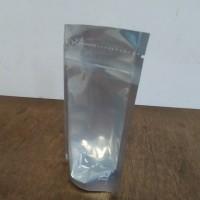 Standing Pouch Kombinasi 9x15cm silver