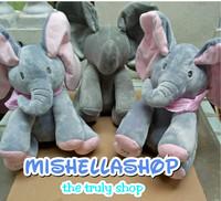 boneka gajah peek a boo elephant gajah cilukbaa ready stock kado unik