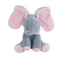 boneka gajah peek a boo ciluk ba singing