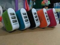 Batok Charger 3Port USB - 3A Smart Charger