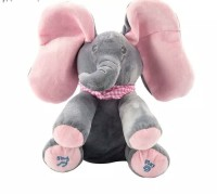 Boneka Gajah Peek A Boo / Kado Mainan Anak Perempuan Boneka Peek A Boo