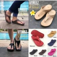 Sandal Wanita Utreez Luna / Crocs / Fitflop / Skechers / Nike