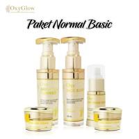 Krim Pemutih / Cream Whitening OxyGlow - Paket Normal Basic Skincare