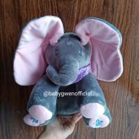Ready sing Peek a boo elephant doll boneka gajah