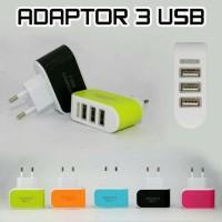 Kepala Charger / Batok Charger Smart Charger 3 USB