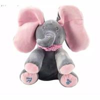 Boneka Gajah Peek A Boo / Kado Mainan Anak Perempuan Boneka Peek A