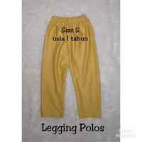 Legging/leging/lejing anak polos ukuran S