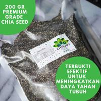 Chia Seed Organik ChiaJoy Asal Mexico Khusus Diet 200 Gram
