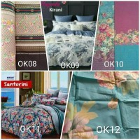 Outlet Kalila home made sprei full karet keliling KING SIZE