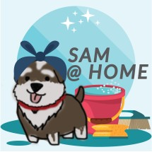 Logo Sam At Home