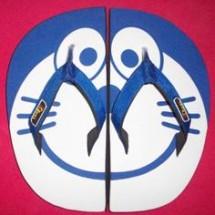 Sandal Karakter Fanel Logo