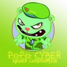 Popo Cyber Logo