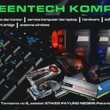 greentech komputer Logo