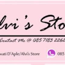 Logo Alvi's Store