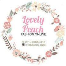 Logo lovely peach shop