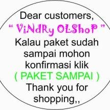 Logo Vindry Olshop