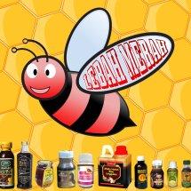 Logo Herbal Lebah Merah