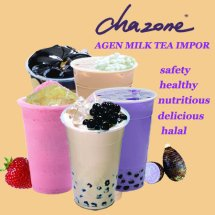 chazone milk tea Logo