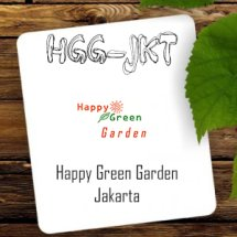Logo Happy Green Garden - JKT