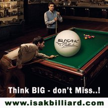 ISAK Billiard Sport Co. Logo