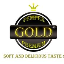 Logo Pempek Gold Premium