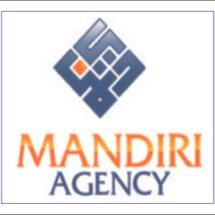 Logo toko mandiri agency