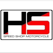 Logo HS speed shop motorcycle