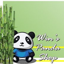 Logo Win's Panda Shop