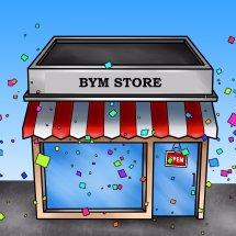 Logo BYM Store