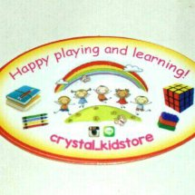 CRYSTAL KIDSTORE Logo