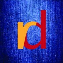 Logo Raw Denim