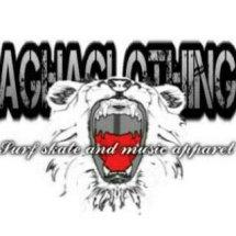 Logo agha clothing store