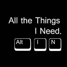 Logo All the Things I Need