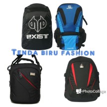 Tenda Biru Fashion Logo