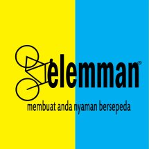 Logo toko sepeda gelemman