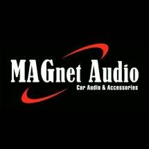Logo magnet audio