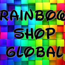 Logo rainbow shop global