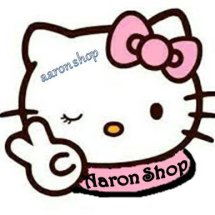 Logo aaron kitty shop
