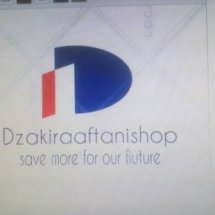 Dzakiraaftanishop Logo