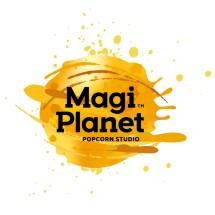 Logo Magi Planet Popcorn