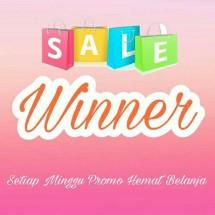 Logo winner shopping