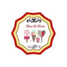 "DIAN ""ES KRIM"" Logo"
