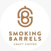 Logo Smoking Barrels Coffee