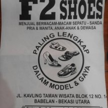 Logo F2 SHOES MARAKASH