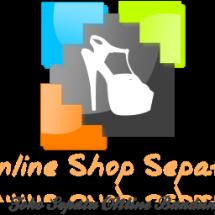 Logo online shop sepatu baru