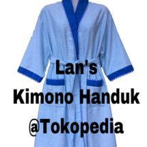 Logo Lan'S kimono handuk