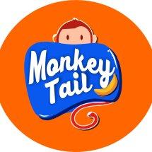 Logo monkey tail
