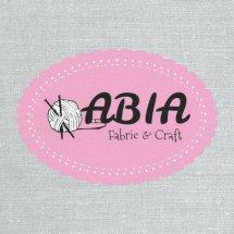 Logo abia fabric and craft